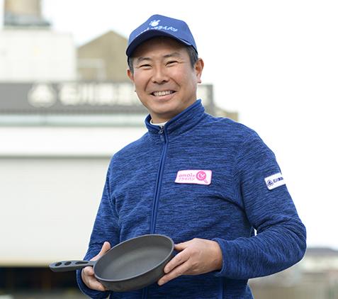 代表取締役社長 石川鋼逸 写真